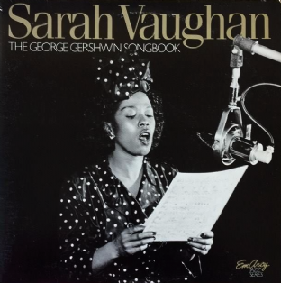 Sarah Vaughan ‎- The George Gershwin Songbook (LP) (EX/VG+)